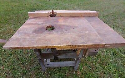 Vintage Woodworking Shaper Router Machine