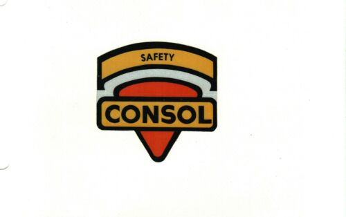 NICE SAFETY SHIELD CONSOL COAL CO. COAL MINING STICKERS # 795