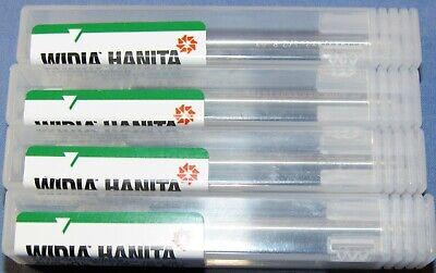 Hanita Solid Carbide Bull Varimill 14 Dia. End Mills 4 Pcs Lot 0.03cr