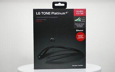 LG TONE Platinum by Harman Kardon HBS-930 Bluetooth Headset (Black)