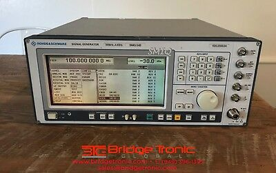 Rohde Schwarz Smiq04b Vector Signal Generator