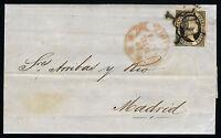 España 6 Carta Cadiz A Madrid Diciembre 1851 -  - ebay.es