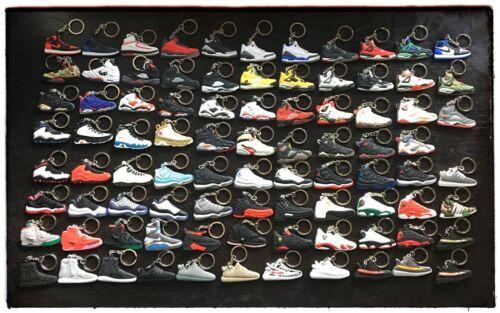 Air Jordan Retro Sneaker keychains Buy 4 get 2 Free