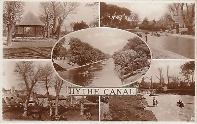 Multiview Of Canal & Bandstand, HYTHE, Kent RP