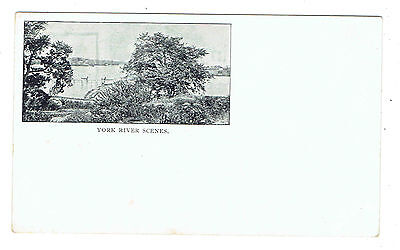Portsmouth New Hampshire view of  York River early Private Mailing Card