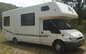 6 berth 2004 Winnebago Sunseeker, Ford Transit Motorhome Tamworth Tamworth City Preview