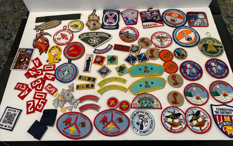 Boy Scout Patch Lot Space Haunted Woods Spookoree