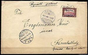 1703-Ungheria-Annullo-posta-aerea-01-1921-su-busta-da-Budapest-31-12-1920