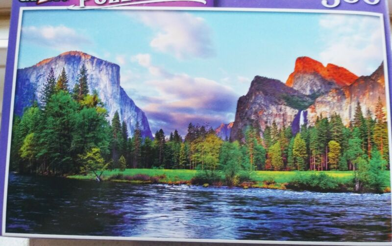 New 300 Piece Jigsaw Puzzle (Yosemite Valley at the Merced River)