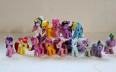 "MY LITTLE PONY BLIND BAG Mini Figures PVC Lot 2"" Cake Topper Toys Pinkie Pie"