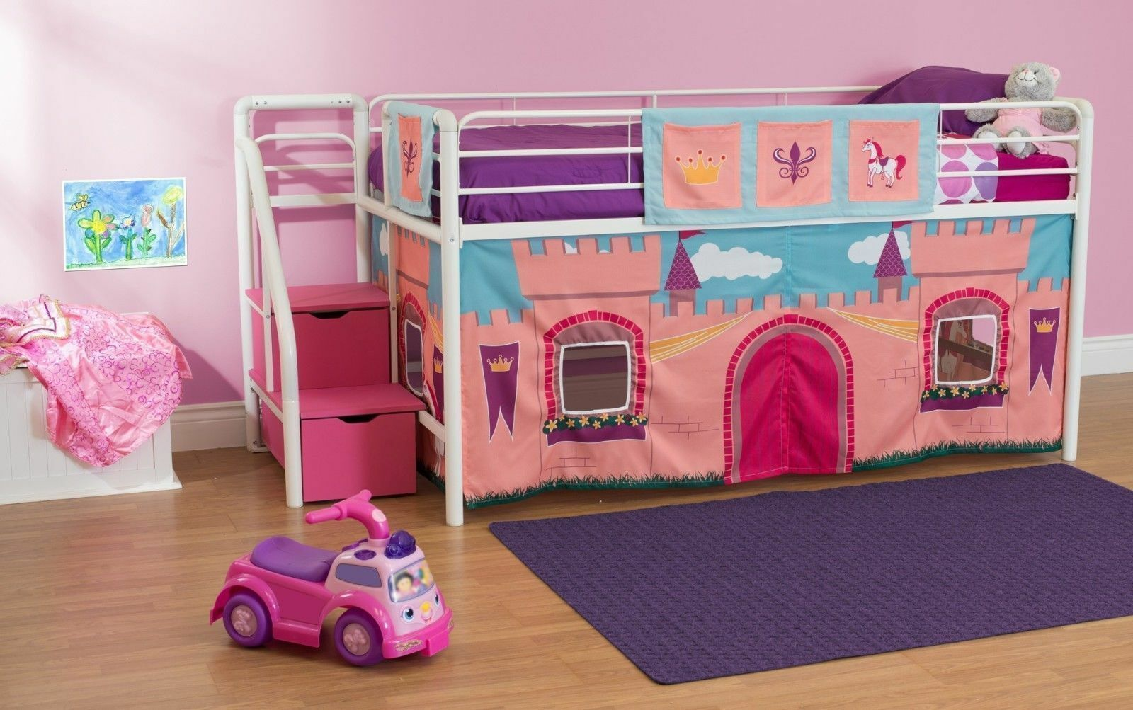 24 amazingly cool loft beds for kids that double as play