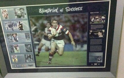 Brad Fittler Lithograph limited edition