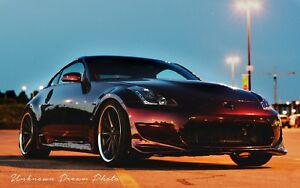 Part out 350z 2004 (coilovers VENDU, camber, etc)