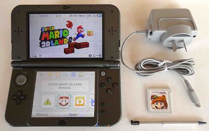 """""""New"""" Nintendo 3DS XL + Charger + Super Mario 3D Land Robina Gold Coast South Preview"""