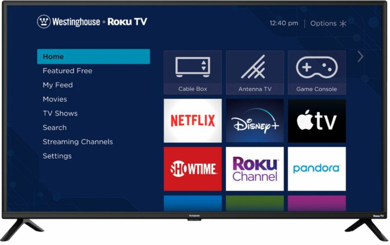 "Westinghouse - 42"" Class Full HD Smart Roku TV"