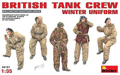 Miniart 1/35 British Tank Crew Winter Uniform # 35121