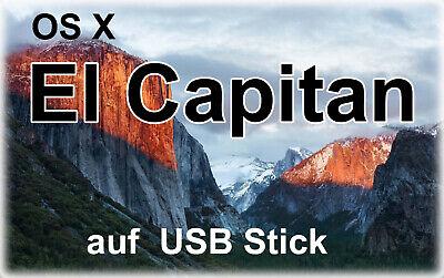 Apple Mac Usb (Bootfähiger USB Stick mit Apple Mac OS X  El Capitan )