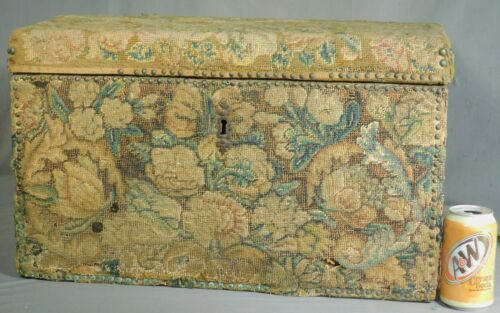 Antique 17th 18th Century Verdure Tapestry Lady