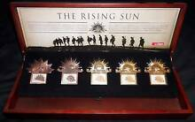 RARE 2012 ANZAC The Rising Sun Badge / Stamp Collection ERROR SET Murray Bridge Murray Bridge Area Preview