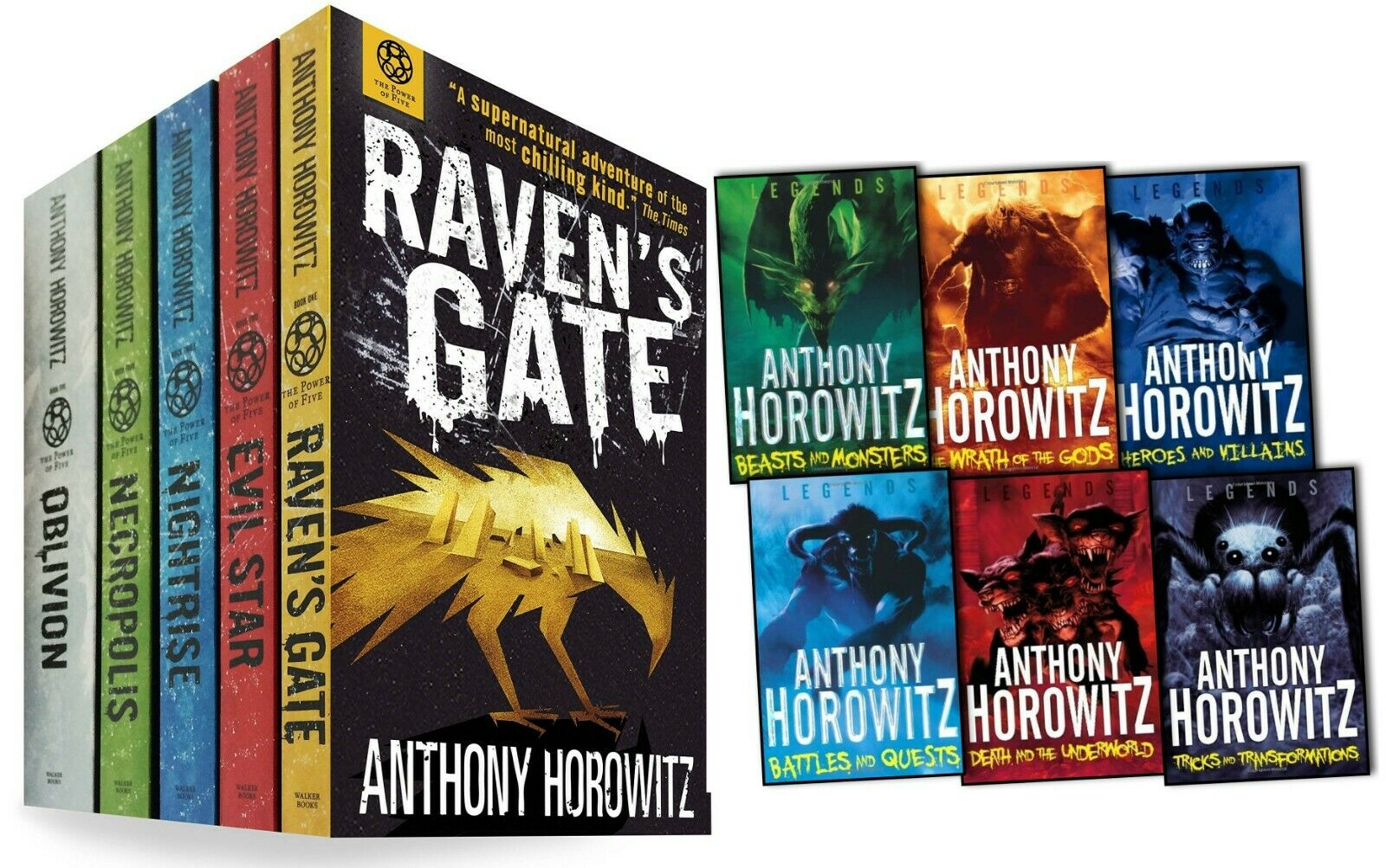 Anthony Horowitz Collection 11 Books Set The Legends And