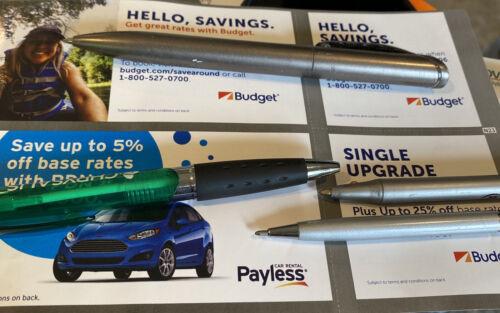 Avis Budget Payless Rental Car Coupons Exp 12/21 - $3.99