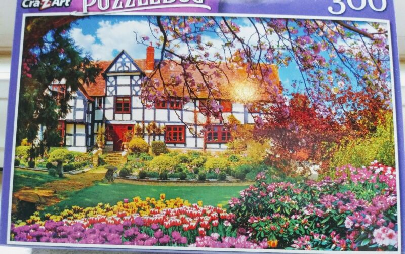 New 300 Piece Jigsaw Puzzle (Lovely Spring Cottage)  Puzzlebug