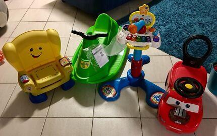 Baby/toddler toys x4