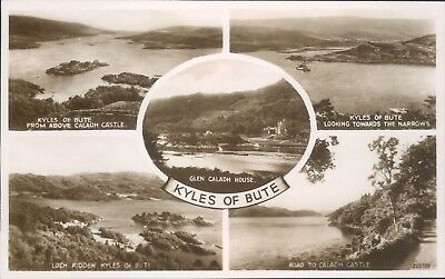 Real photo kyles of bute 5 views valentine