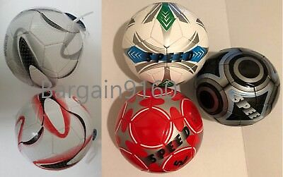 BLK SILVER GREEN RED BLK/SIL BLUE Soccer Ball Size 5 Official NEW, SHIP DEFLATED - Deflated Soccer Balls
