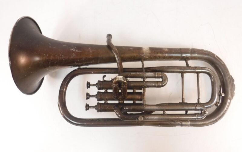 """VTG """"The Buescher"""" Alto Horn Truetone 150235 Elkhart Musical Instrument"""