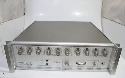 Programmed Test Sources Pts 160 Frequency Synthesizer 0.1-160 Mhz Tested Working