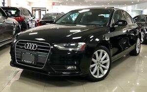 2014 Audi A4 2.0 Komfort|NO ACCIDENT|LEATHER|SUNROOF|CERTIFIED