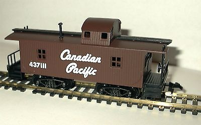 HO SCALE TRAINS MODEL POWER CANADIAN PACIFIC WOOD CABOOSE for sale  Paxinos