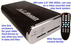 Digital Video Recorder & External HDD Box