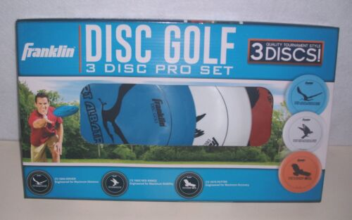 Franklin Pro Disc Golf Set Driver Putter Outdoor Game Backyard Sports new in box