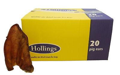 Hollings Pigs Ears Bulk Box (20s)