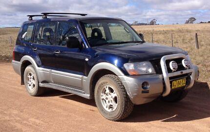 2003 Mitsubishi Pajero Wagon Uralla Uralla Area Preview