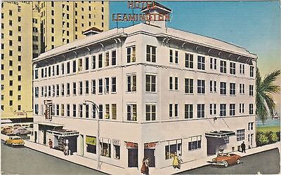 Miami, Florida - Hotel Leamington on Biscayne Boulevard and N. E. First Street