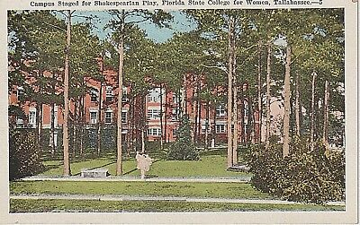 1920's The Florida State College for Women in Tallahassee, FL Florida PC