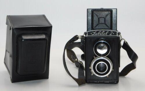 Lubitel 2 Medium Format TRL Camera Soviet Untested Parts or Repair