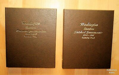 1999   2008 Complete 200 Coin State Quarter Set Wsilver Proofs   2 Dansco Albums