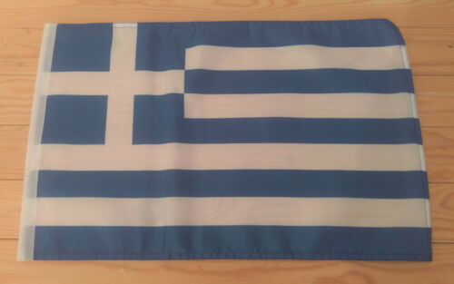 "GREECE FLAG - 45cm x 30cm - 18"" x 12""  - Greek Flag"