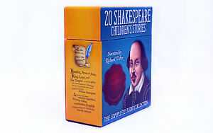 Shakespeare Childrens Stories 20 Audio CDs Boxed Complete Collection
