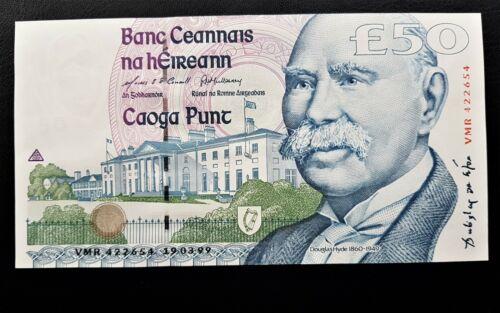 Ireland Douglas Hyde  £50 Pound Banknote