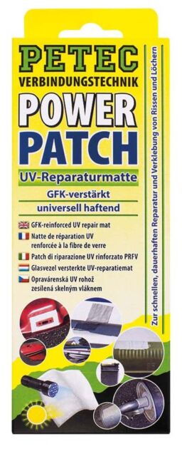 PETEC POWER Patch Reparaturmatte 75x150mm   85150