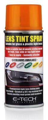 ORANGE Lens Spray Tint Paint headlamp headlight indicator MC18/10
