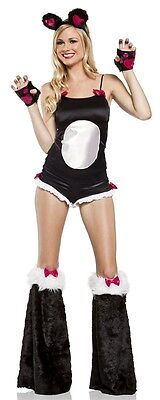 BAMBOO PANDA BABE Adult Womens Costume Cute Animal - Womens Panda Kostüme