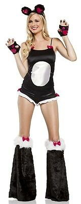 BAMBOO PANDA BABE Adult Womens Costume Cute Animal Halloween