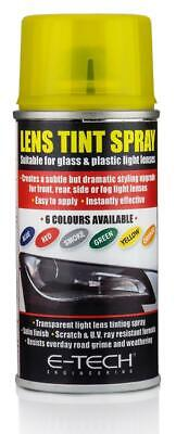 YELLOW LENS SPRAY TINT PAINT HEADLAMP HEADLIGHT INDICATOR FOR MOTORBIK