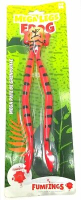 KEYCRAFT MEGA LEGS FROG - NV246 STRETCHY SQUEEZE PULL STRESS TOY TOAD...